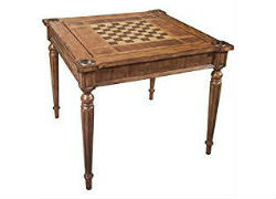 Butler Masterpiece Collection Wood Multi-Game Card Table - brown