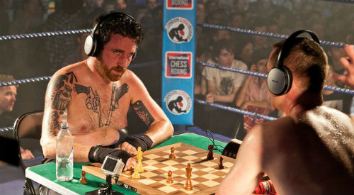 Boxing Chess Match