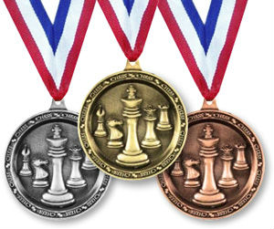 Chess Tournament Medals
