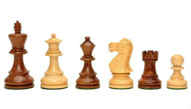 Chess Pieces of The US Made Round Pedestal Game Table