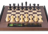 "DGT FIDE Chess Pieces On The ""Revelation II"" Chess Board"