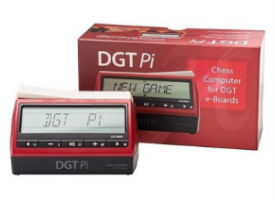 DGT PI Digital Chess Clock With Its Box