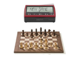 DGT PI Digital Chess Clock & DGT EBoard set