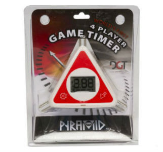 DGT Pyramid Digital Chess Timer - Packed