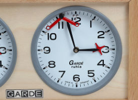 Analog Garde Classic Chess Clock - Braille Version