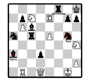Wizard Chess Positions as in the movie