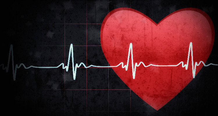 A Heart And A A Pulse Measurement Graph