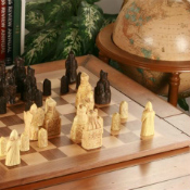 The Isle of Lewis Replica Chess Set with Presentation Box