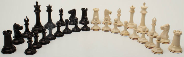 The Mammoth Ivory Collector Series Luxury Chess Pieces