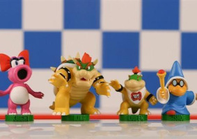 The Super Mario Bros Chess Set, Bowser's Side Chess Pieces