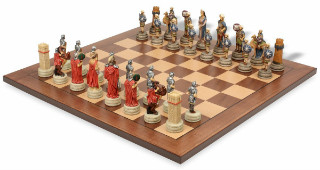 Romans & Arabia Theme Chess Set Package