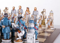 The Battle of Gettysburg Chess Pieces Set