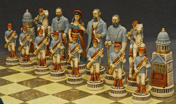 Battle of Gettysburg Chess Set