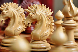 The Camelot Series Artisan Chess Pieces- Knight