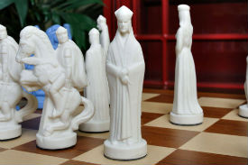 The Camelot Series Luxury Porcelain Chess Pieces - King