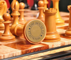 The Golden Collector Series Luxury Chess Set, Signature On The Pieces Bottom