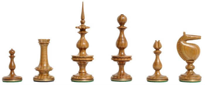 The Killarney Series Luxury Chess Pieces