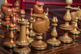 The Killarney Series Luxury Chess Pieces.