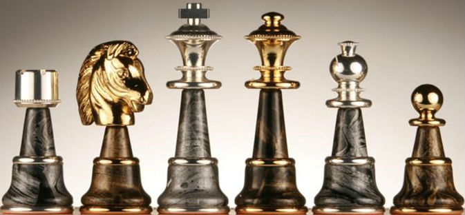 The Magnificent Chess Pieces