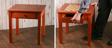 "19"" Four in One Game Table"