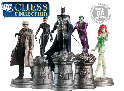 The 32 Piece Batman Chess Set