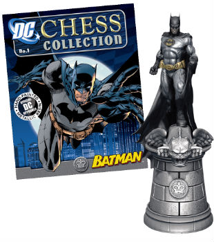 The 32 Piece Batman Chess Set - Batman Piece