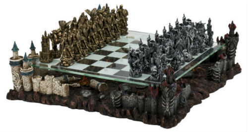 3D Fantasy chess set