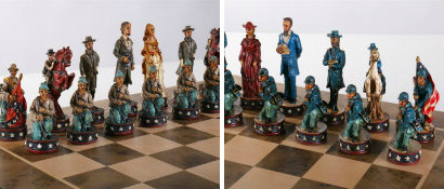 The Civil War Chess Set