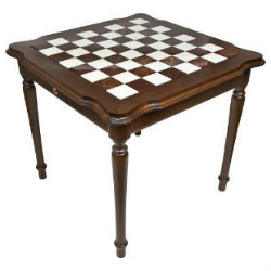 The Genuine Italy Alabaster Chess Table