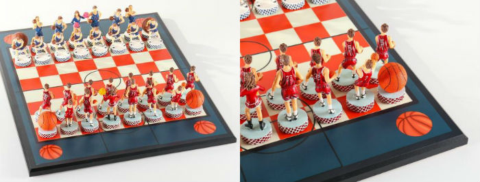 Basketball Chess Set