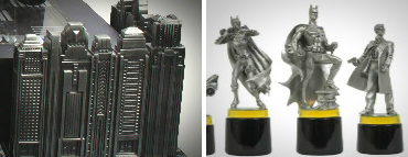 Batman Gotham Cityscape Chess Set