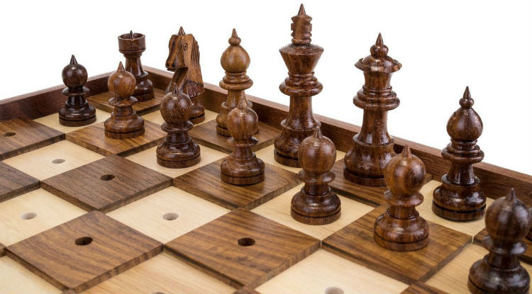 Braille Tactile Chess Set