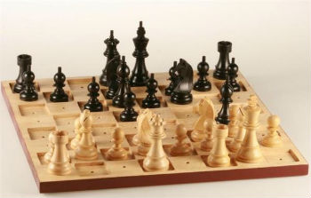 "Braille Chess Set - 3.75"" King"