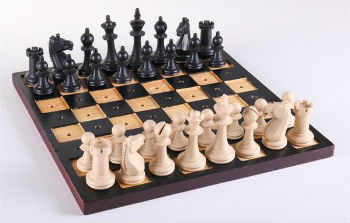"Braille Chess Set - 3.25"" King"