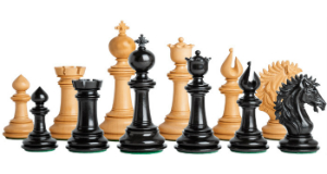 The Camelot Series Artisan Chess Pieces
