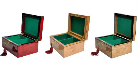 The Chess Boxes Included with the Centurion Series Staunton Chess Set