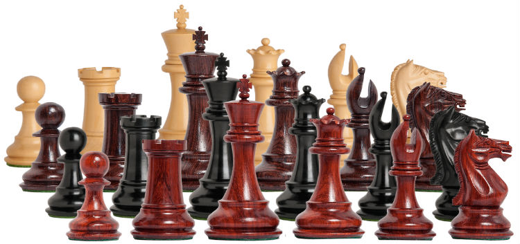The Centurion Series Staunton Chess Pieces
