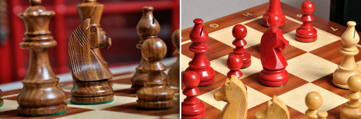 The Championship Series Chess Set, Box, & Board Combination
