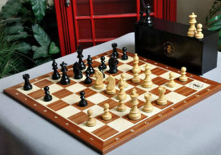 The Championship Series Chess Set - 21""