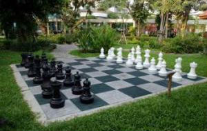 Giant Chess Sets