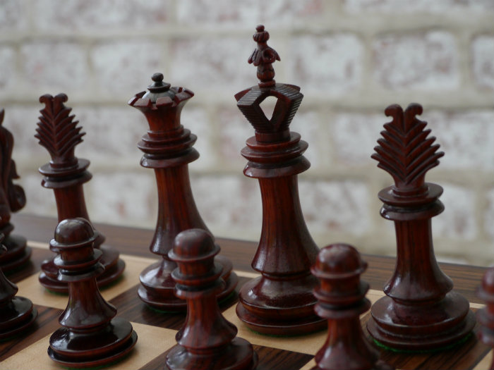 Chess Baron Wood Chess Set