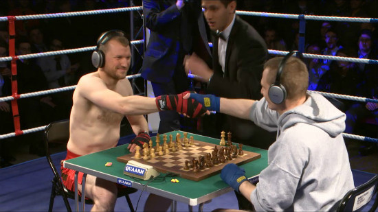 Chess In A Boxing Ring