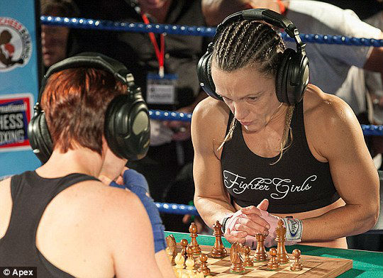 Ruthie Wright, Britain's first female chessboxing champion
