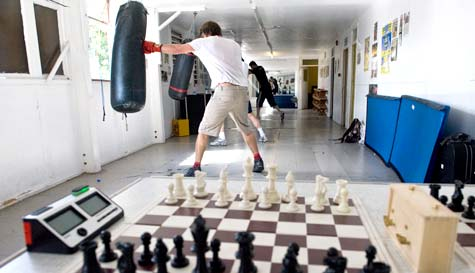 Chess Boxing Training