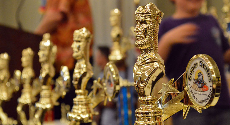 Golden Chess Trophies
