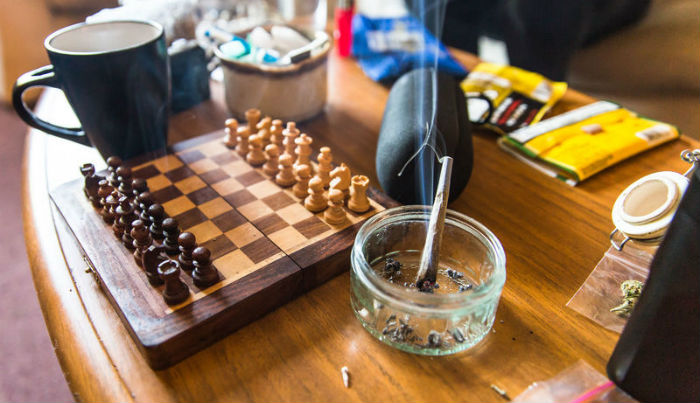 A Chess Set And Drugs