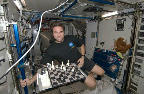 Chess On The International Space Station.