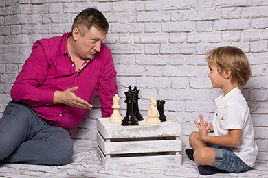 Maxim Dlugy Teaching a kid