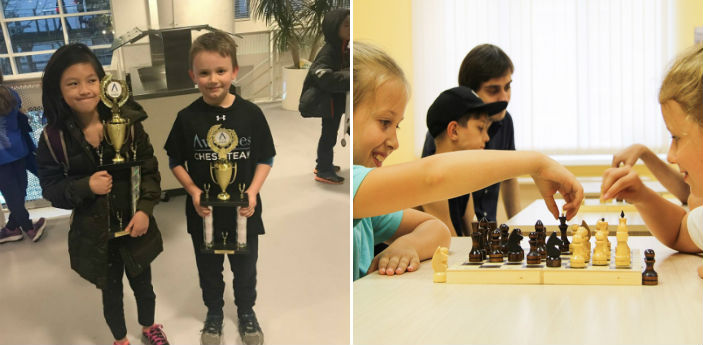 Group Classes at the Chess Max Academy