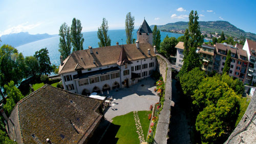 The Swiss Museum of Games on the Lake Geneva, Switzerland.